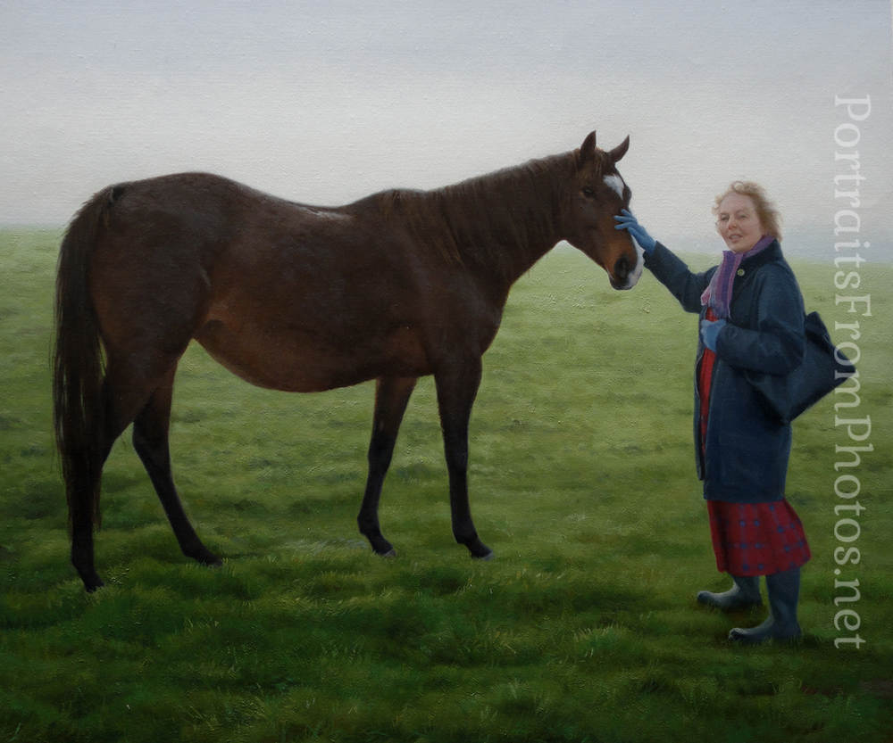 horse artists that paint from photos