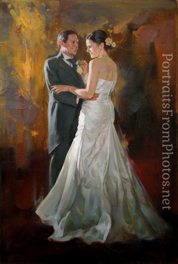 wedding paintings