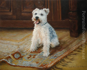 dog portrait artists uk