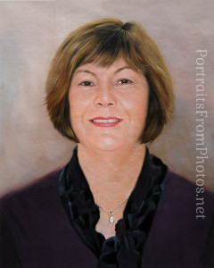 custom oil portrait