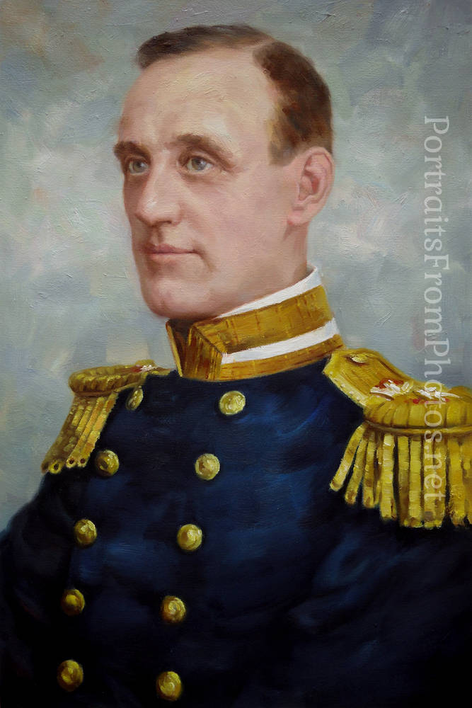 military paintings portraits from photos